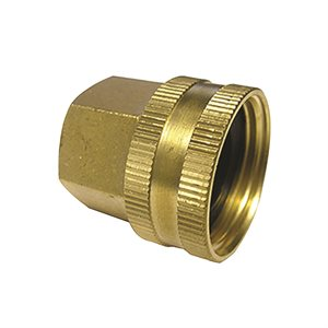 "Brass Garden Hose Fitting 3 / 4"" Female Gh X 1 / 2"" Female Npt"