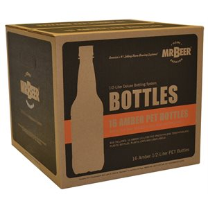 MR. BEER 1 / 2 LITER DELUXE BOTTLING SYSTEM (16 / PK)