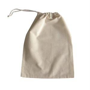 MUSLIN STEEPING BAG 10'' X 6''
