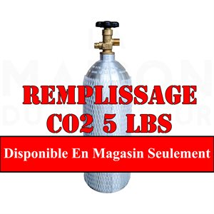 Remplissage Co2 5 Lbs