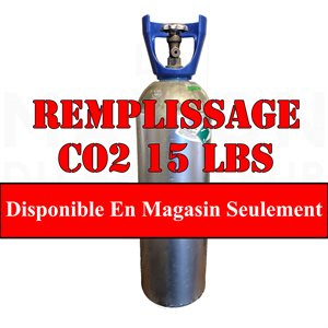 Remplissage Co2 15 Lbs