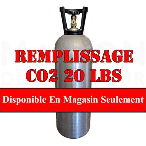 Remplissage Co2 20 Lbs