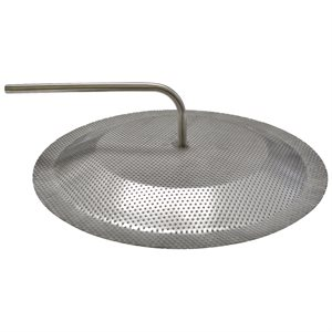 "SANKE SS FALSE BOTTOM 11"" W / DIP TUBE"